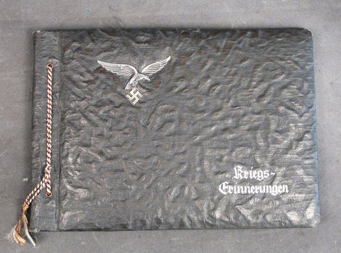 Original German WWII Luftwaffe Airman Personal Photo Album Original Items