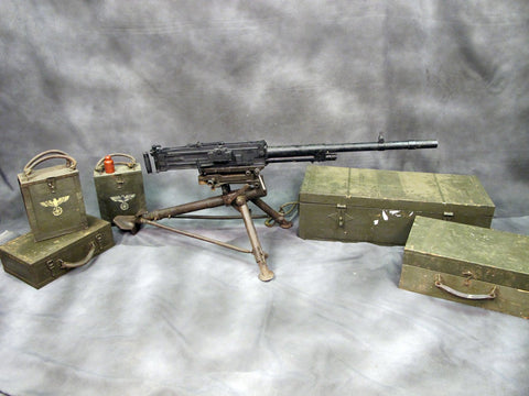 Italian WWII Breda M37 Display Machine Gun Complete Set