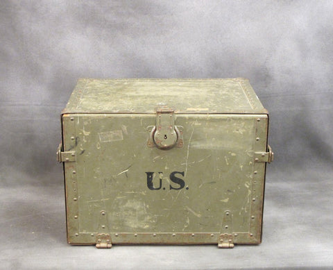U.S. WWII Army 1944 Dated Officer Field Desk