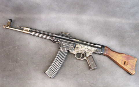 German WWII MP 44 Display Assault Rifle with Original De-milled Receiver