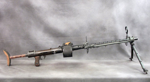 German WWII Luftwaffe MG 15 Air Cooled Display Machine Gun