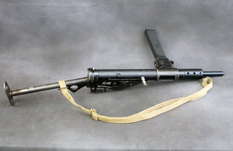 British WWII Sten MkII Display Submachine Gun