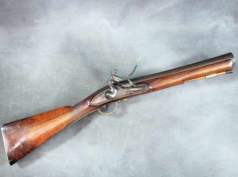 Original Early British Sea Service Blunderbuss by MEAD Circa 1720/30