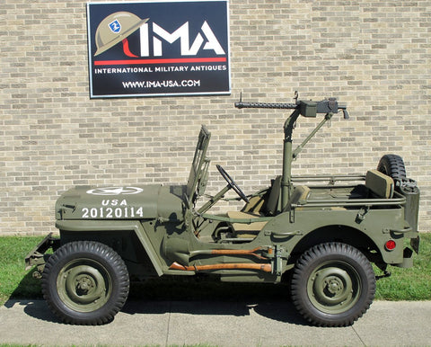 Original U.S. WWII 1945 Ford GPW Jeep & Accessories- Fully Restored