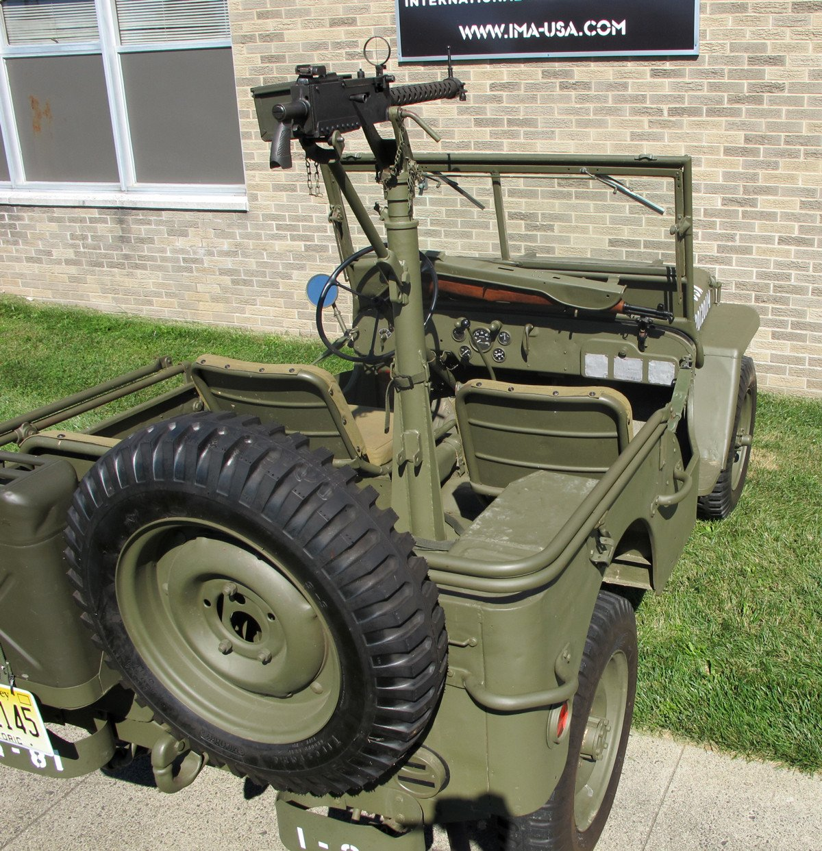 Original U.S. WWII 1945 Ford GPW Jeep & Accessories- Fully