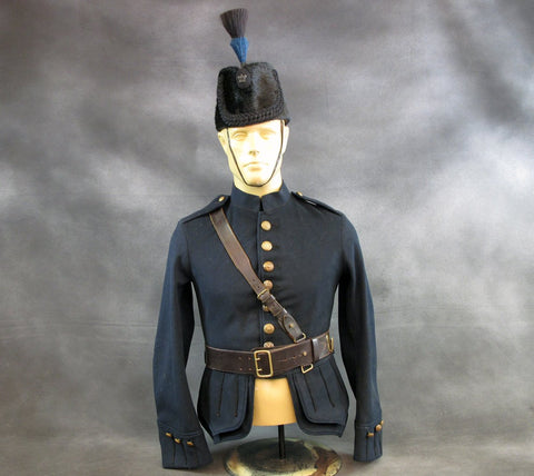 Original 1914 Scottish WWI Rifle Regiment Uniform Set Original Items