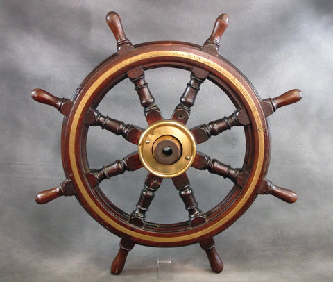 Original 1813 Ship's Wheel from the US Sloop Betsey