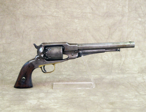 Original U.S. Civil War Era Remington 1858 New Model Army Revolver- Matching Serial Number 40319 Original Items