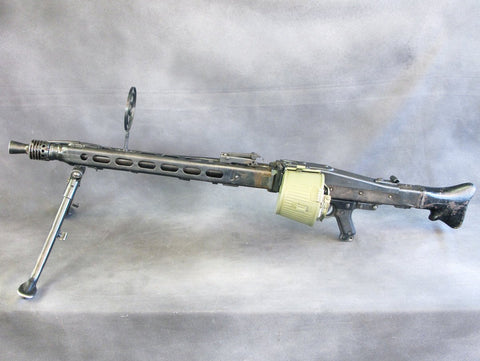 Original German WWII MG 42 Display Machine Gun