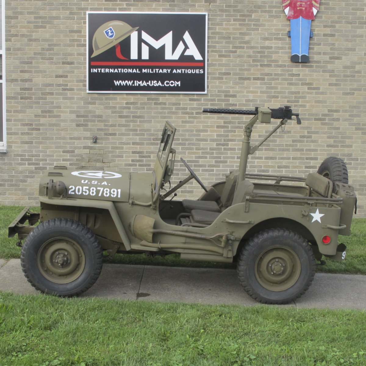 Original U S  WWII 1944 Ford GPW Jeep with Accessories- Fully Restored