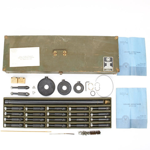 Original U.S. WWII type Subcaliber .22cal Mortar Trainer Device 3-F-8 for 60mm, 81mm and 4.2 Inch Mortars