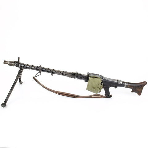 Original German WWII MG 34 Display Machine Gun with Accessories- Dated 1944