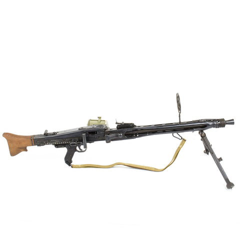 Original German WWII MG 42 Display Machine Gun- Marked swd