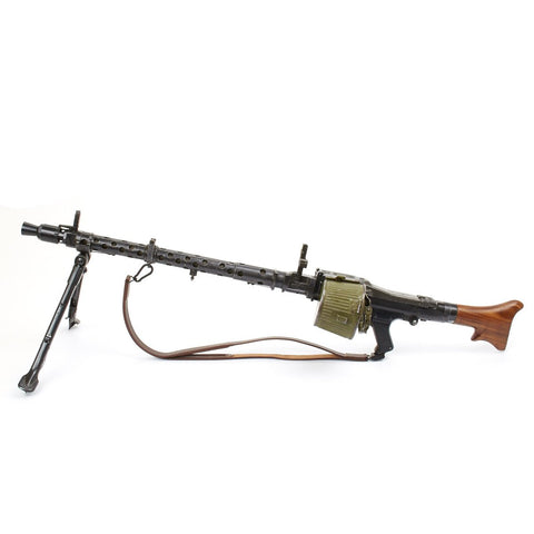 Original German WWII MG 34 Display Machine Gun with Accessories- Marked dot, Dated 1944