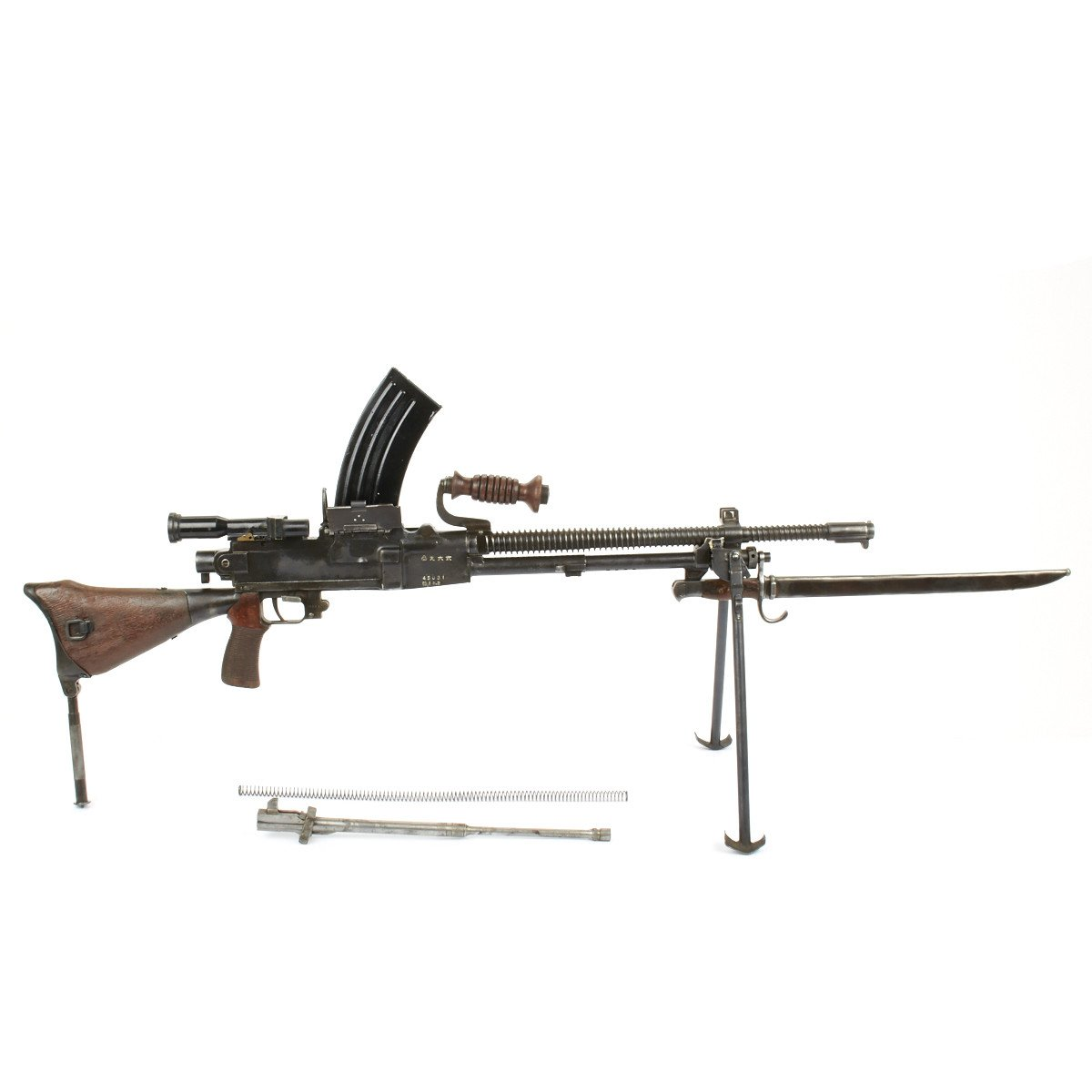 Original WWII Japanese Type 96 Display LMG with Optical Scope