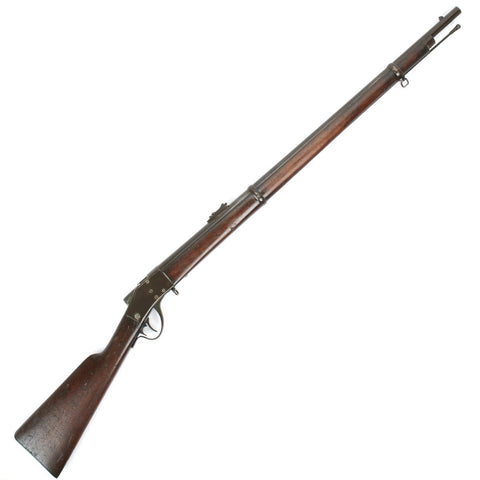 Original U.S. Sharps Borchardt Old Reliable Model 1878 Breechloading Military Rifle - Serial 18839