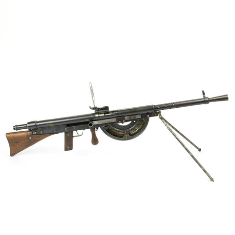 Original French WWI Fusil-Mitrailleur Modele 1915 CSRG Chauchat Display Light Machine Gun - Matching Serial Numbers
