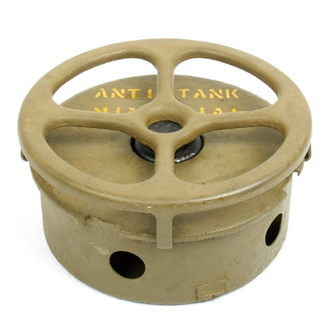 U.S. WWII M1A1 Anti-Tank Training Mine Original Items