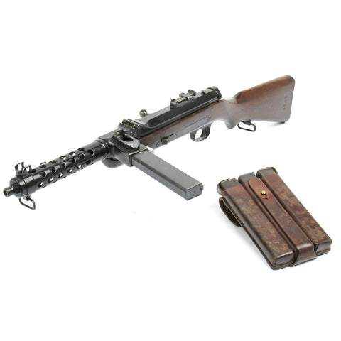 Original German MP34(o) Steyr Solothurn Display SMG with Magazines and Accessories