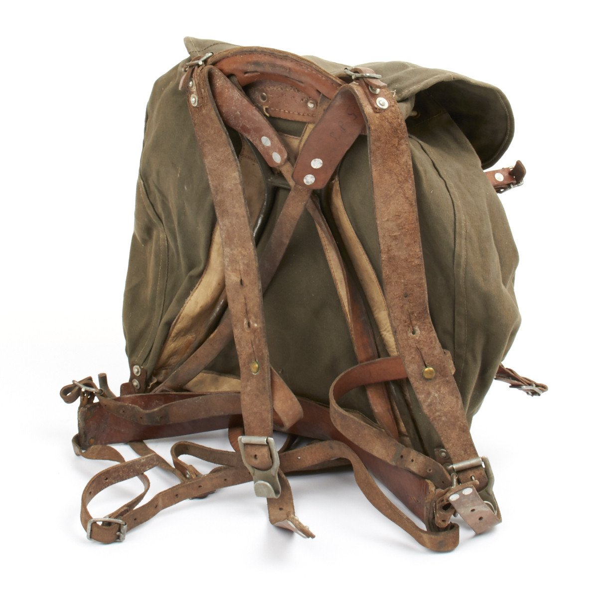 Original Swedish Wwii M1939 Alpine Rucksack Backpack With