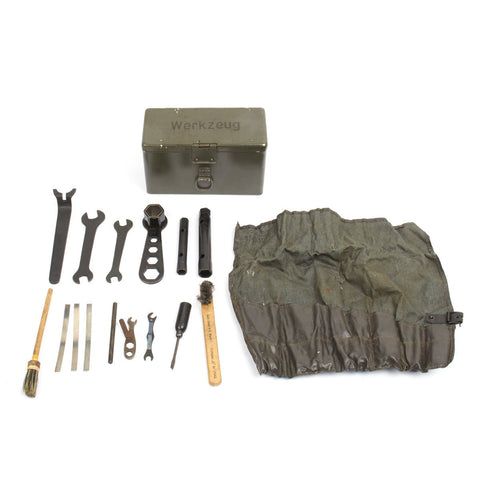 Original German WWII Automobile Tool Kit Werkzeug by DKW Auto Union (AUDI)