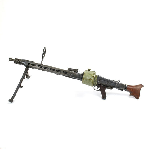 Original German WWII MG 42 Display Machine Gun – Marked 1943 dfb Original Items