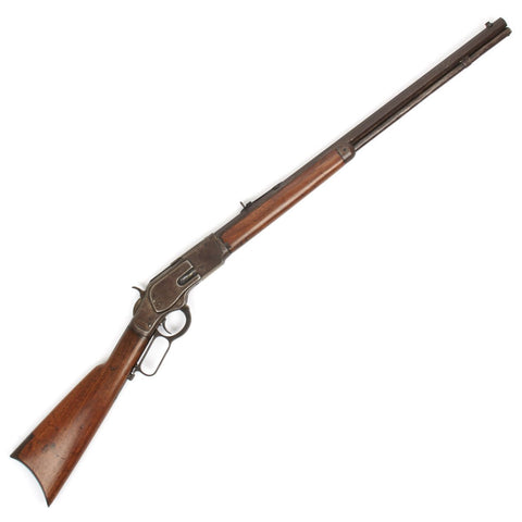 Original U.S. Winchester Model 1873 .32-20 Rifle - Manufactured in 1889 Original Items