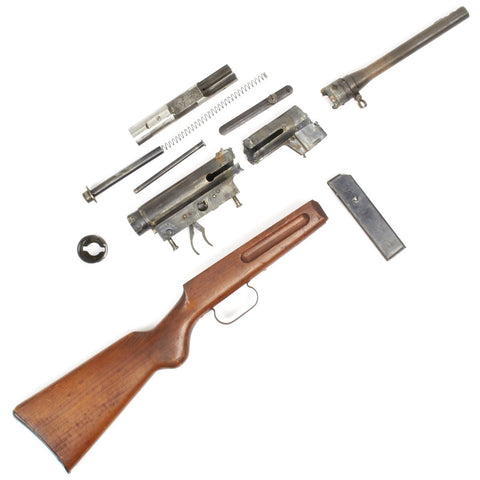 Original WWII Italian Beretta Model 38 Complete Parts Set - Dated 1944 Original Items