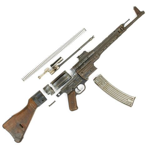 Original German WWII MP43 STG44 Sturmgewehr Complete Parts Set - Partial Matching Serial Numbers