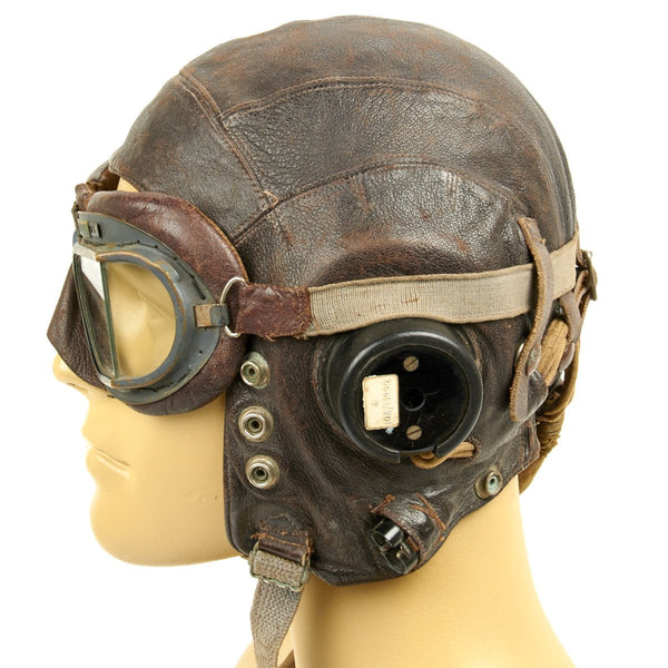 original british wwii raf named type c leather flying