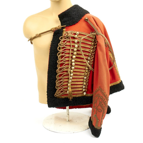 Original 19th Century European Hussar Officer's Pelisse