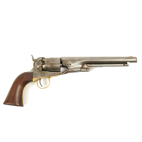 Original U.S. Colt Model 1860 Army Revolver with Matching Serial Numbers 156071- Fine Example