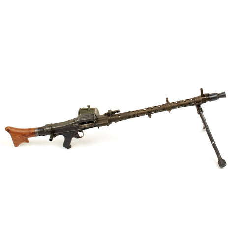Original German WWII MG 34 Display Machine Gun - Marked dfb, dated 1941