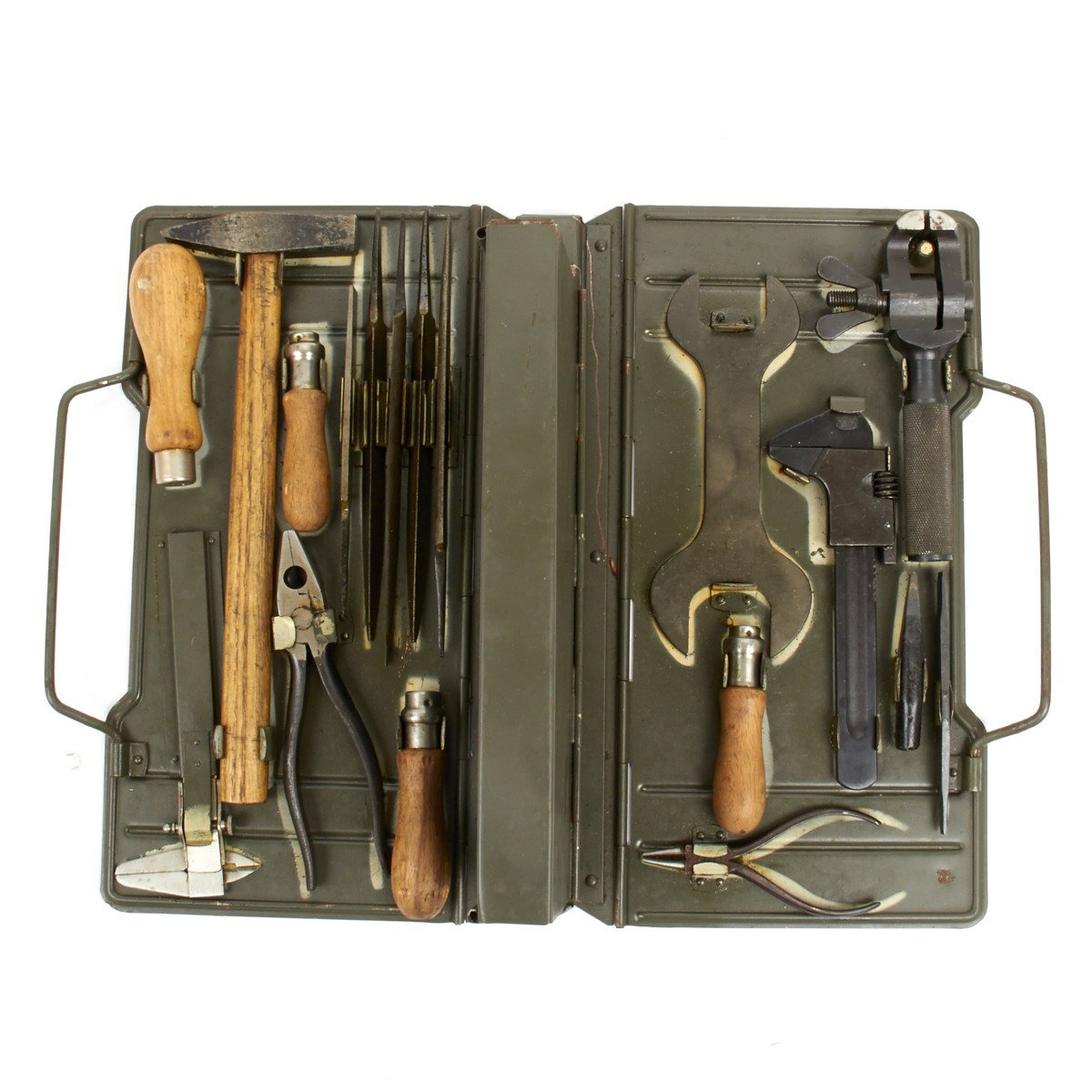 Image result for WW2 German armourers tool kit carry case