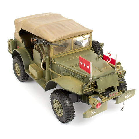 U.S. WWll General George Patton Ultimate Soldier 1/6 Scale Dodge WC57 Command Staff Car Original Items