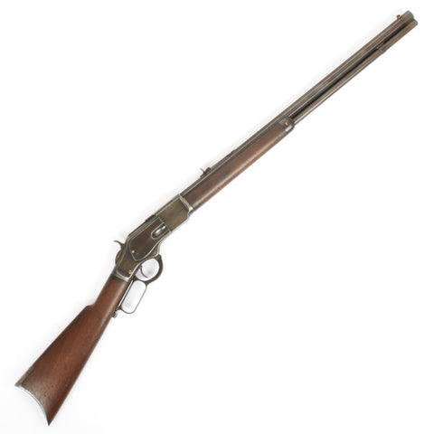 Original U.S. Winchester Model 1873 .44-40 Rifle with Octagonal Barrel with Letter - Manufactured in 1888