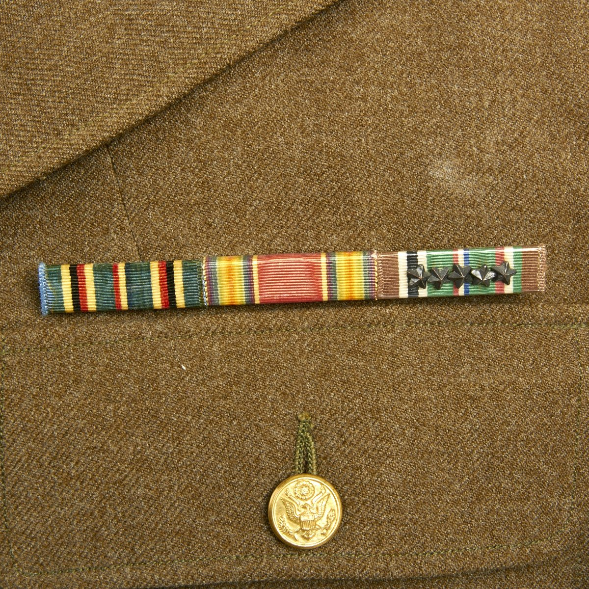 Original U S  WWII 3rd Armored Division Technical Sergeant