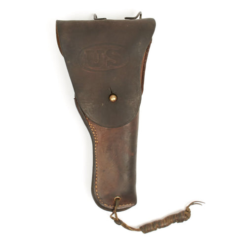 Original U.S. WWII .45 M1916 Boyt 1942 Dated Leather Holster Original Items