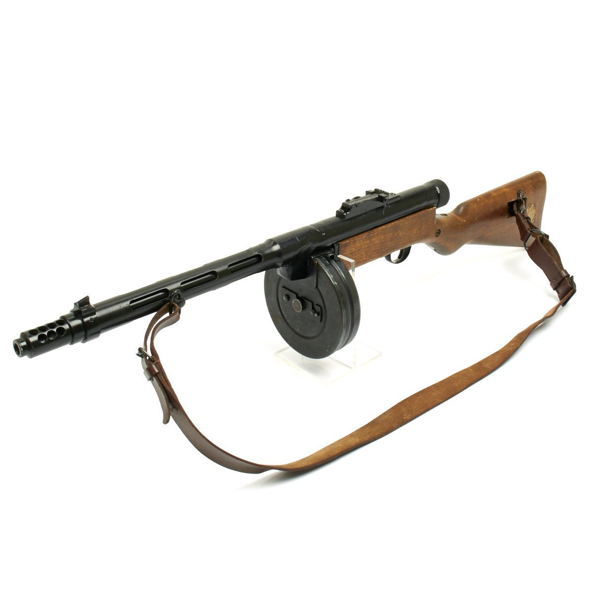 Original Finnish Wwii Suomi Kp 31 M31 Display 9mm Smg With Drum