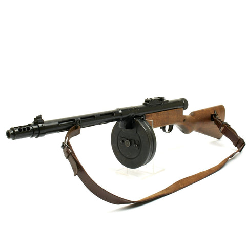 Original Finnish WWII Suomi KP/-31 M31 Display 9mm SMG with Drum Magazine