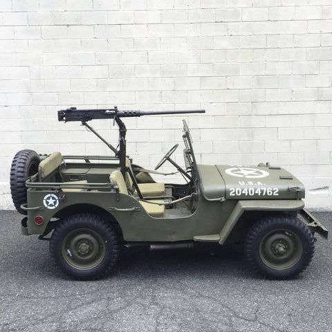 Original U.S. WWII 1943 Ford GPW Jeep with All Matching Serial Numbers - Fully Restored (Gold Medal Winner)