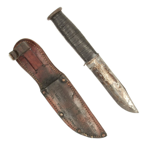 Original U.S. WWII Named KA-BAR Fighting Knife - Japan 1943-1945