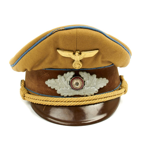 Original German WWII Named NSDAP SA Political Visor Cap - ORTS