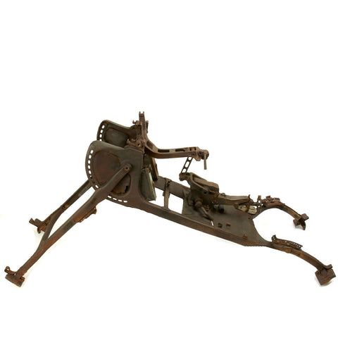 German WWI MG 08 Maxim Machine Gun Sled Mount - Serial No 8321 Original Items