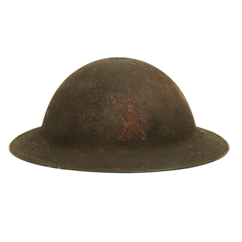 Original U.S. WWI M1917 Named Doughboy Helmet of the 26th Infantry Yankee Division 103rd Machine Gun Battalion