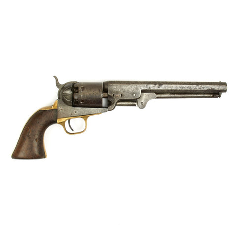 Original U.S. Civil War Colt Model 1851 Navy Revolver Manufactured in 1862 - Serial No 131967 Original Items