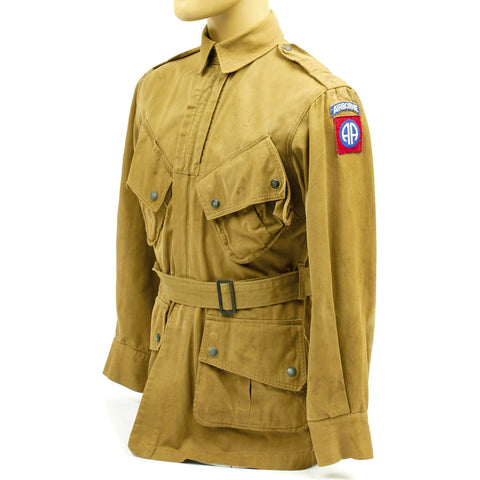 Original U.S. WWII 82nd Airborne M1942 Paratrooper Jacket Original Items