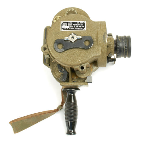 Original U.S. WWII Army Signal Corp 35mm Motion Picture Camera KF-2(1) by Bell & Howell Co Original Items
