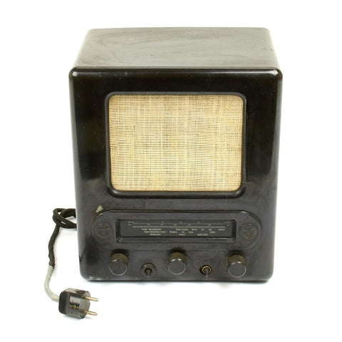 Original German WWII 1938 Volksempfaenger VE 301 Dyn Radio