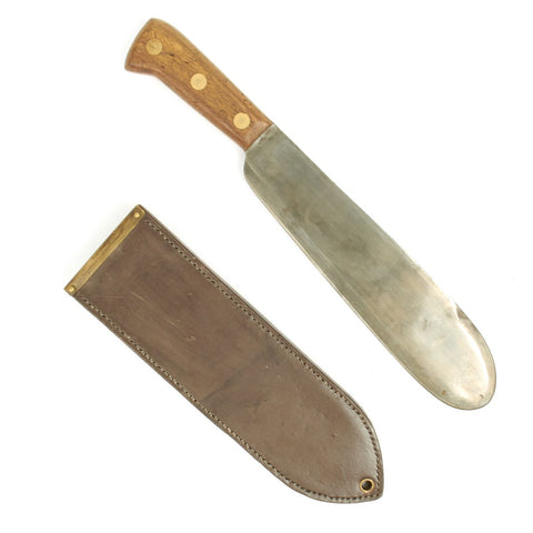 Original U.S. WWII USMC Bolo Knife by Chatillon with Boyt 1943 Scabbard Original Items